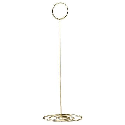 Porte nom de table doré