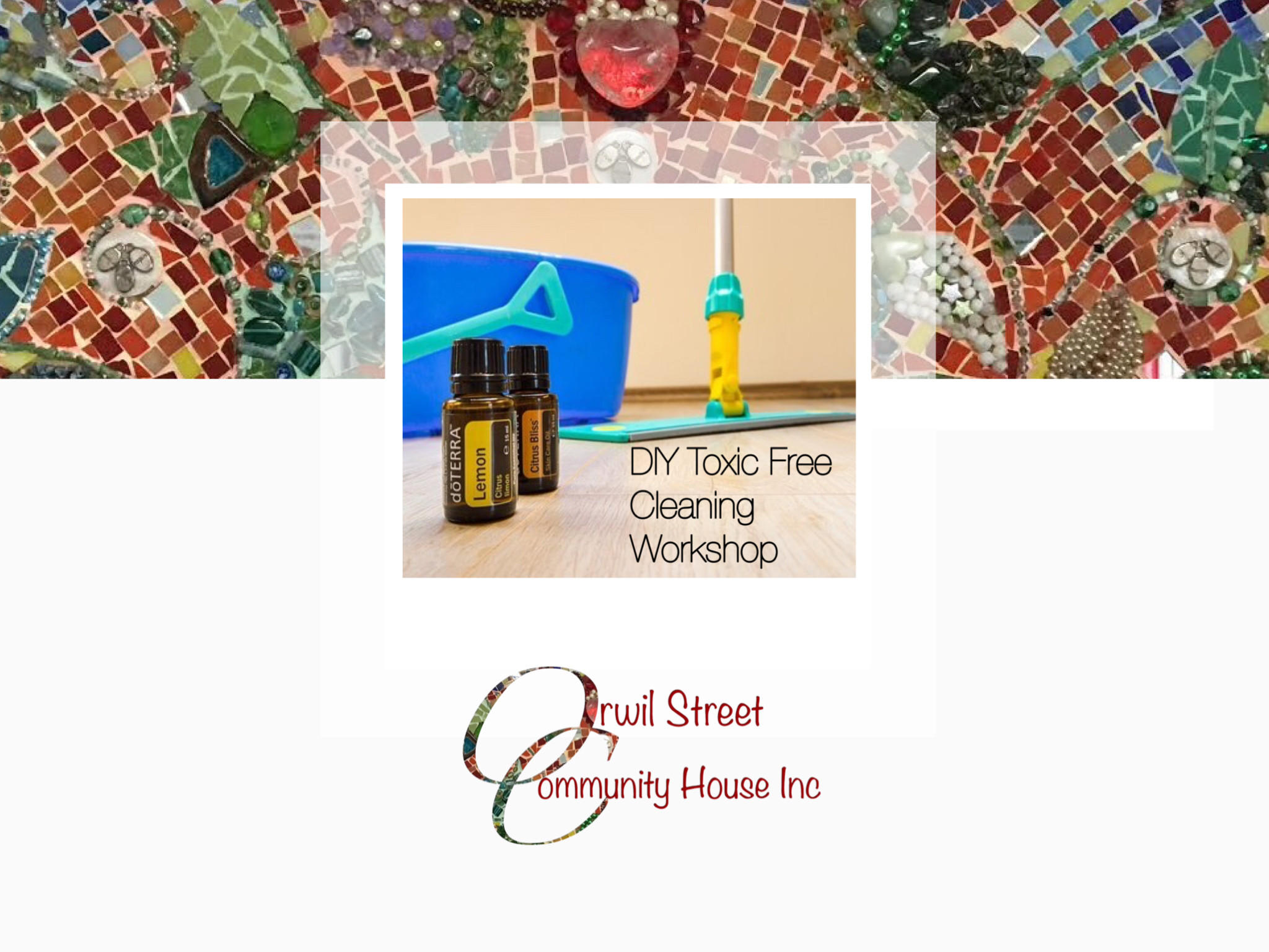 DYI toxic free Cleaning Workshop