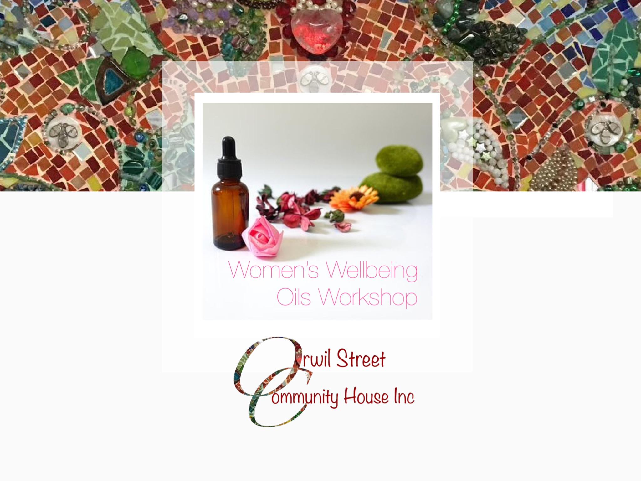 Women's Wellbeing Oils Woekshop