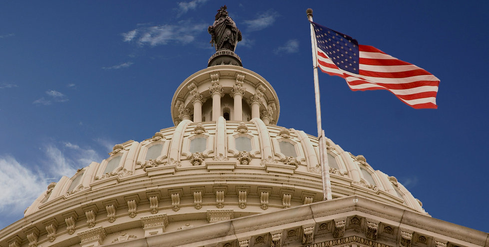 United_States_Capitol_Dome_and_Flag_edit