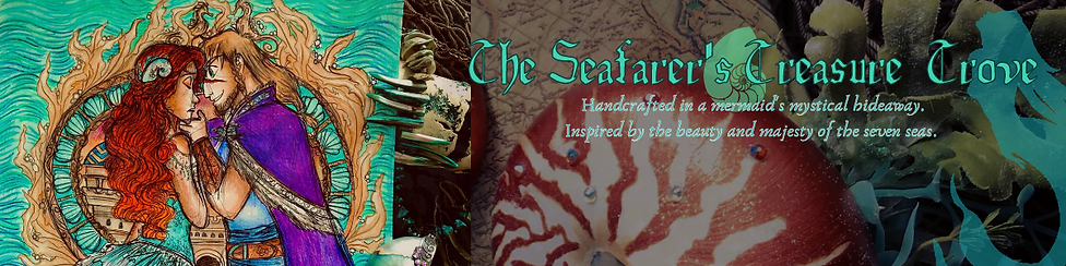 The Seafarer's Treasure Trove Etsy Cover
