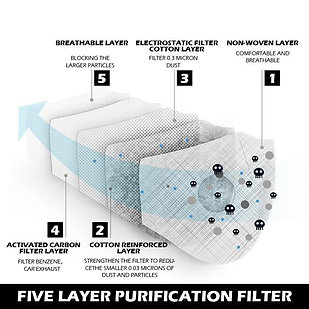 Fel-Tec Pro Dust Mask Replacement Filters