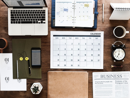 GETTING ORGANIZED: 4 WAYS TO MANAGE YOUR WORKLOAD