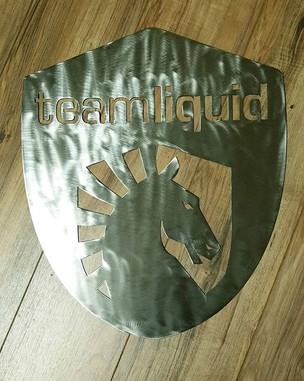 Custom Metal Art for _teamliquid _#custo