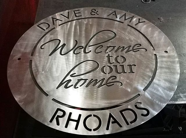 Custom Welcome to our home piece 🥰🏡