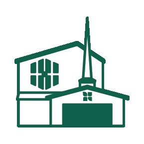 East Campus Building Illustration