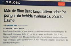 Reportagem do jornal O Globo
