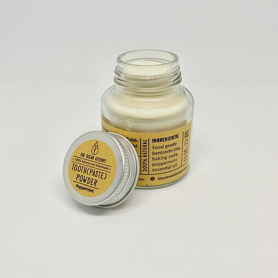 Tooth(paste) Powder