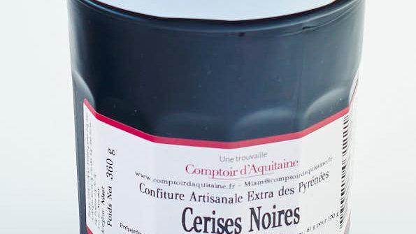 CONFITURE CERISES NOIRES POT 345 gr