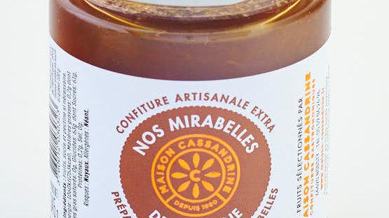 CONFITURE MIRABELLES DE LORRAINE POT 345 gr