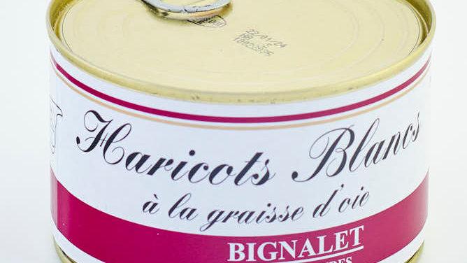 HARICOTS A LA GRAISSE D'OIE BOÎTE 440 gr