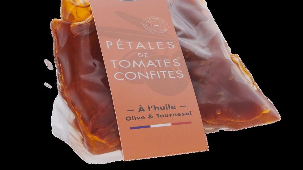 PETALES DE TOMATES SECHEES A L'HUILE POCHE 200 GR