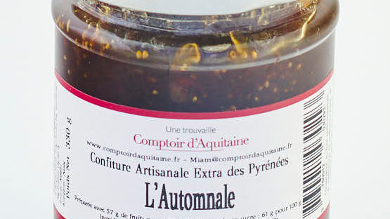 CONFITURE FIGUE NOIX AGRUMES POT 345 gr