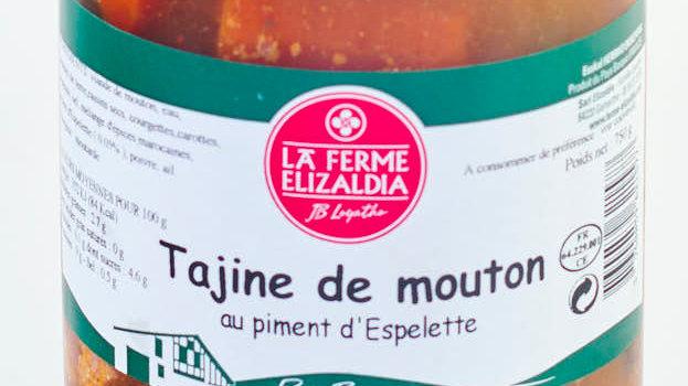 TAJINE DE MOUTON BOCAL 750 gr