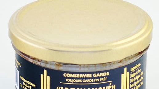 LE TCHANQUE PUR PORC NOIR DE BIGORRE BOCAL 130 gr