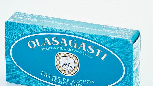 FILETS D'ANCHOIS A L'HUILE D'OLIVE BOITE 48 gr