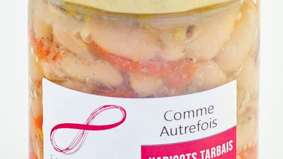 """HARICOTS TARBAIS """"COMME AUTREFOIS"""" BOCAL 420 gr"""