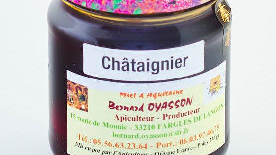 MIEL DE CHATAIGNIER POT 250 gr
