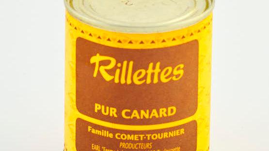 RILLETTES PUR CANARD BOITE 120 gr