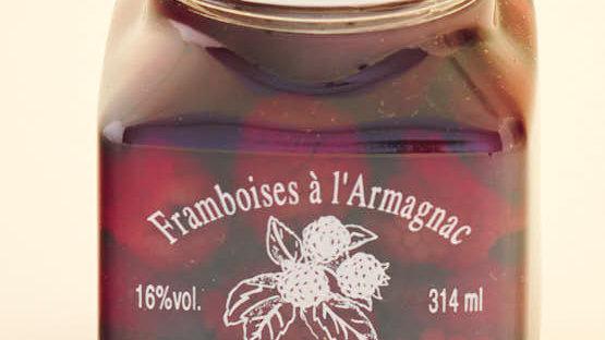 FRAMBOISE À L'ARMAGNAC BOCAL 31.4 cl