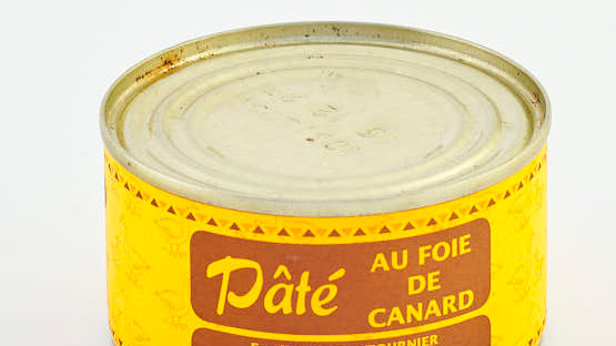 PATE DE CANARD AU FOIE GRAS BOITE 240 gr