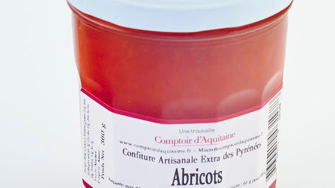 CONFITURE D'ABRICOTS POT 345 gr