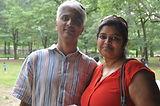 Padmashree and GK Srinivas