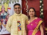 Sharada and Chandra Bhat