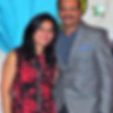 Asha Devaramani and Vijay Nanjaraj