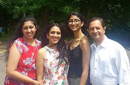 Indu & Santosh Family