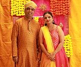 Anupama and Pandurang Hosamani