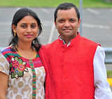 Nithya Manjur Basavaraj and Bala Annegowda