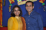 Sneha and Shankar Shivananjappa