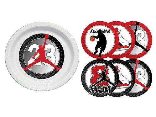 Air Jordan/Jumpman - Plate Stickers