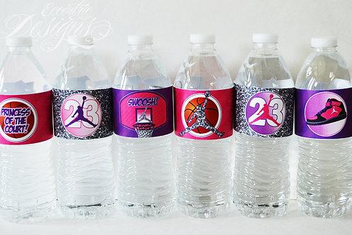 Air Jordan/Jumpman - Water Bottle Labels