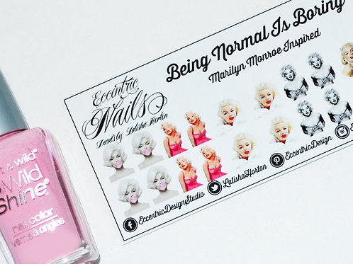Marilyn Monroe - Nail Decals