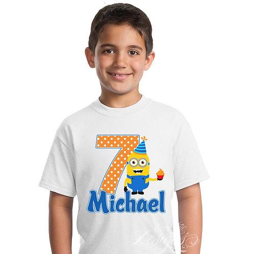 Minion - Iron-on Tshirt Transfer
