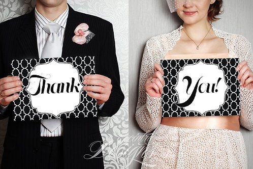 Thank You - Photography Prop / Signs