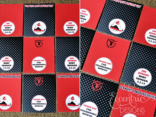 Air Jordan/Jumpman - Hershey Bar Wrappers