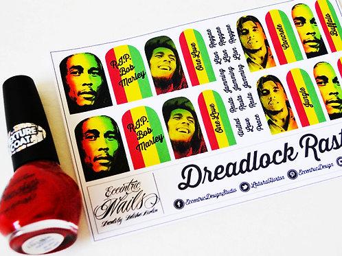 Bob Marley (Jamaica) - Nail Decals