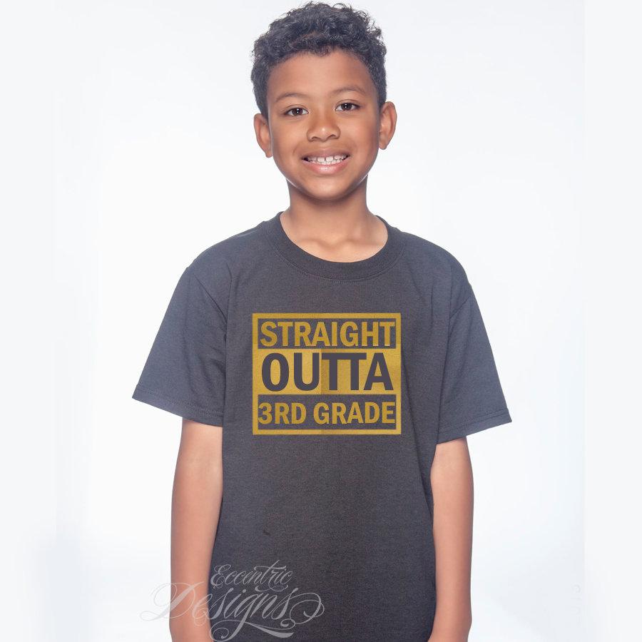 Straight Outta - Graduation T-Shirt Design | site
