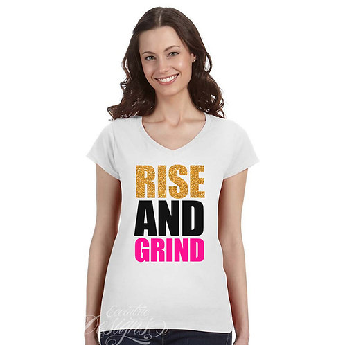 Rise and Grind - T-shirt Design