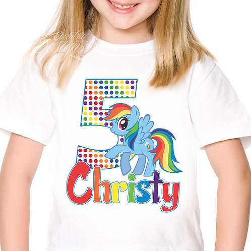My Little Pony - Iron-on Tshirt Transfer