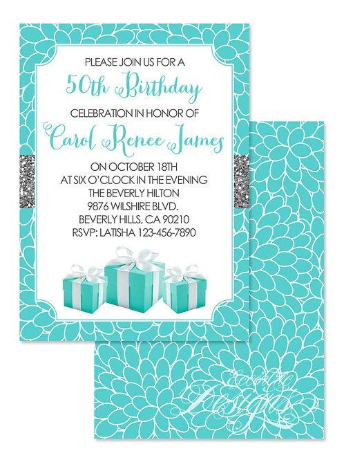 Tiffany - Digital Invitation