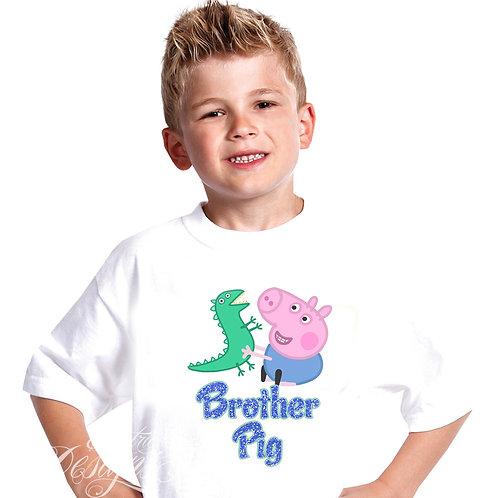 George Pig - Iron-on Tshirt Transfer