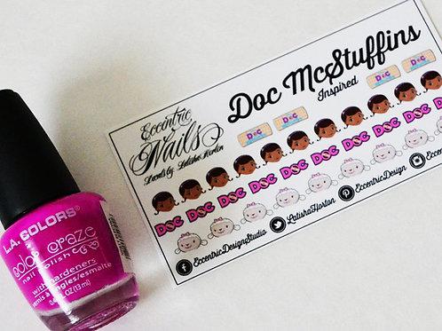 Doc McStuffins - Nail Decals