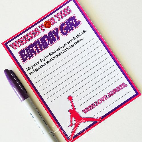 Air Jordan/Jumpman - Birthday Party Game