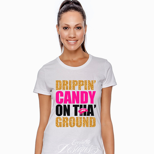 Drippin' Candy - T-shirt Design