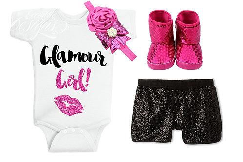 Glamour Girl - Baby Iron-on Tshirt Transfer