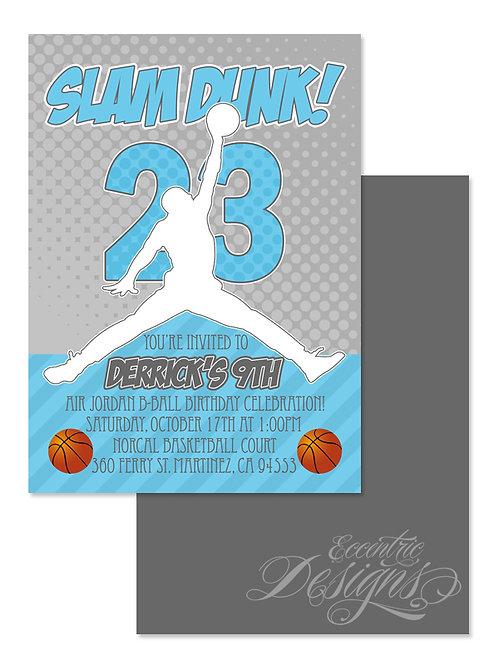 Air Jordan / Jumpman - Digital Birthday Invitation